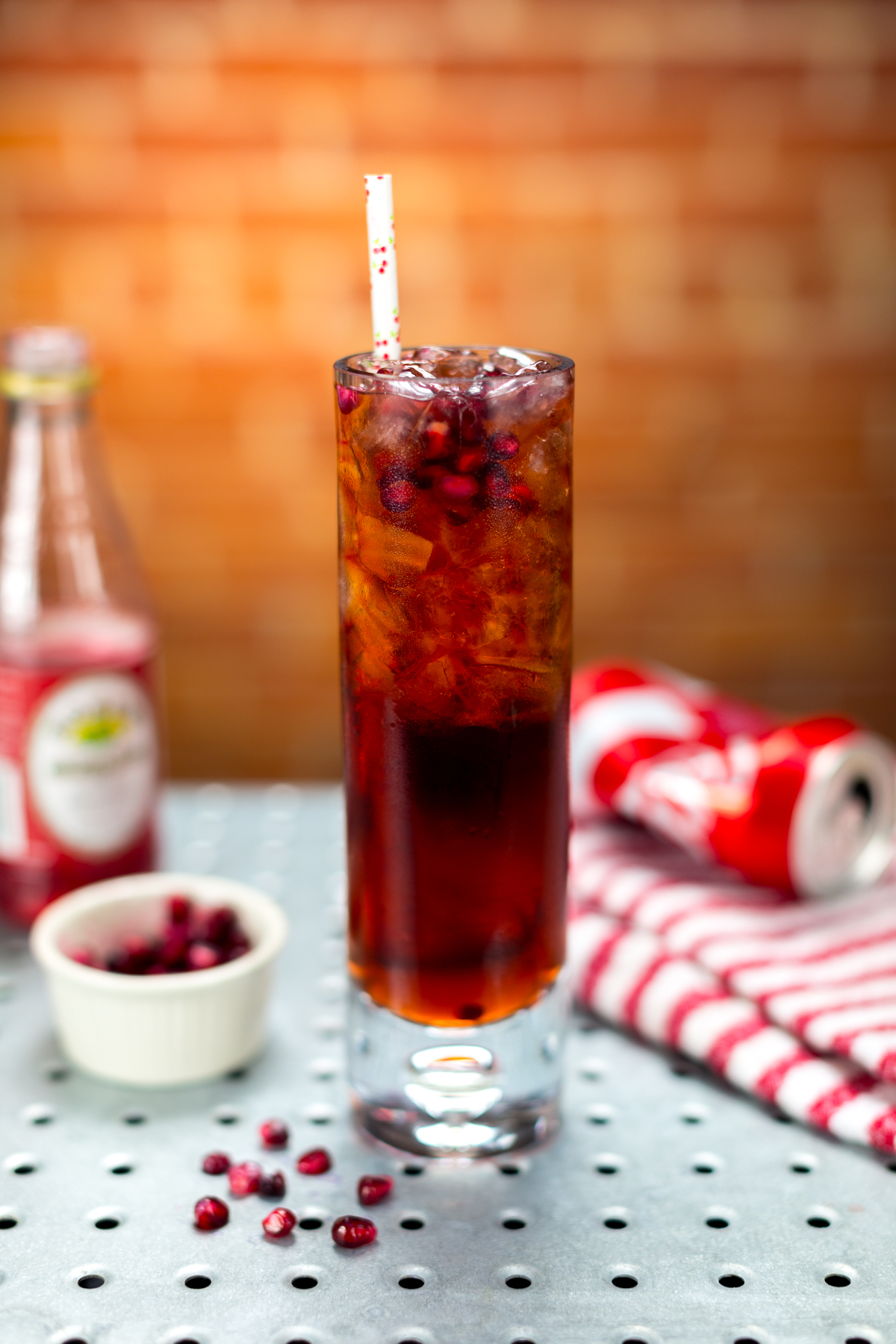Vanilla Vodka Cherry Cola