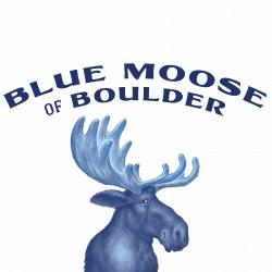 Blue Moose of Boulder