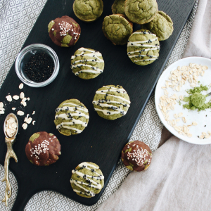 Mini Matcha Muffins with Collagen