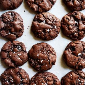 Cherry Chocolate Rye Cookies