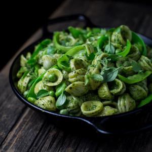 Garden Herb Pesto Pasta
