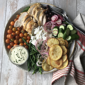 Chicken Mediterranean Salad