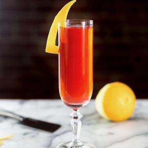 24 Days of Cocktails - Blood Orange Vodka Spritz