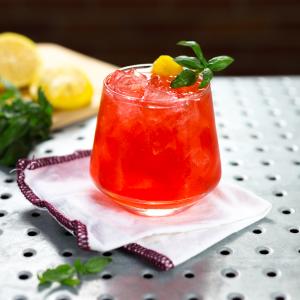 24 Days of Cocktails - Blood Orange Vodka Aperol & Basil