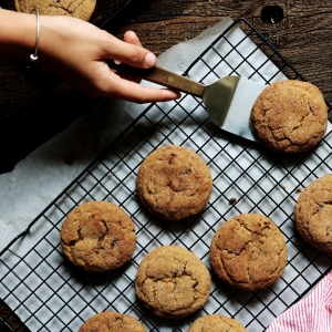 Brown Butter Muscovado Snickerdoodles