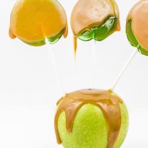 Caramel Apple Suckers