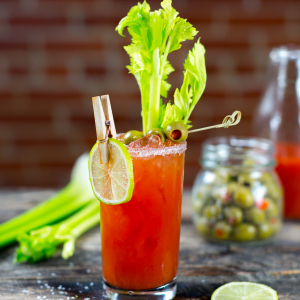 24 Days of Cocktails - Seasoned Vodka Bloody Mary